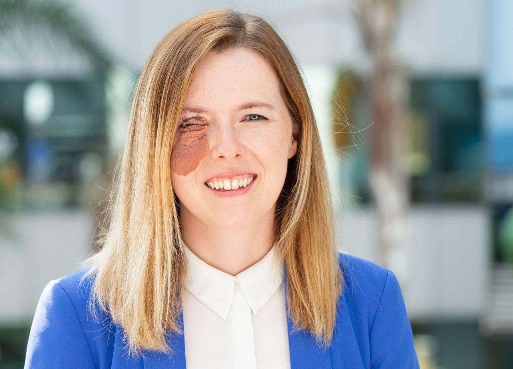 Headshot of Monica Gizzi, Changing Faces trustee